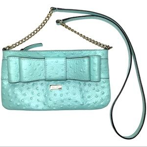 Kate Spade Turquoise Bow Crossbody